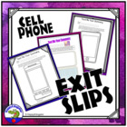 Cell Phone Summarizer Activity Ticket Out