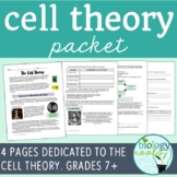 Cell Theory Packet