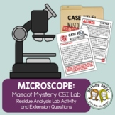 Cells  Microscope Usage Lab Lab: Mascot Mystery- A Tale of
