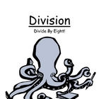 Center Game Math Division ~ Divide By Eight ~ Great for HoMeWoRk!