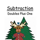 Center Game Math ~Over 50 Pages~ Subtraction Doubles Plus
