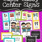 Center Signs - Super Sassy Theme {Bold and Zebra Print}