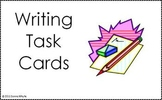 Center Task Cards - Writing