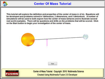 Center of Mass Tutorial - Single User License