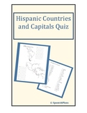 Central and South America Country Capital Quiz