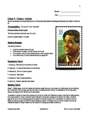 Cesar Chavez Biography: Literacy Lesson  (Student Material