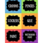 Chalkboard Art Labels