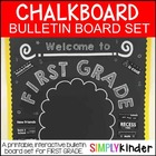 Chalkboard Bulletin Board - First Day of First Grade