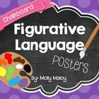 Chalkboard Figurative Language Posters
