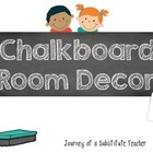 Chalkboard  Room Decor Pack