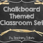 Chalkboard Themed Classroom Set