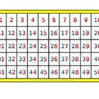 Chalkspot Alphabet/Number Grid Charts for Primary Grades