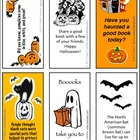 Chalkspot Halloween Bookmarks (Grades 4-6)