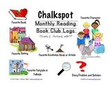 Chalkspot Monthly Reading Book Logs