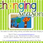 Changing Seasons {Writing Craftivity/Bulletin Board/Studen