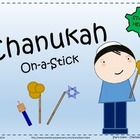 Chanukah On-a-Stick - Party and Pretend Props