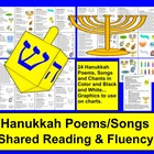 Chanukah Poems / Songs / and Chants-Shared Reading & Fluency
