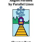 Chapter Test:  Angles Formed by Parallel Lines