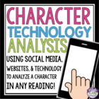 Character Analysis for Any Reading Using Technology As Ins