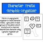 Character Traits 2 Page Graphic Organizer