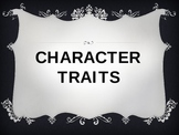Character Traits PowerPoint