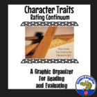 Character Traits Rating Continuum Graphic Organizer