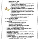 Characterization - Making Characters Memorable Handout