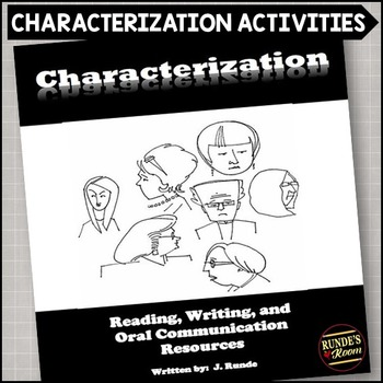 Characterization Resources for Language Arts