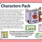 Characters Pack - CCSS Aligned