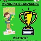 Charades Spanish Vocabulary Game / Animals, Nature, Holidays