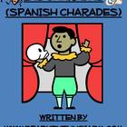 Charades Spanish Vocabulary Game / Clothing, Materials, Cl