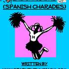 Charades Spanish Vocabulary Game / Sports, Prepositions, D