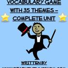 Charades Spanish Vocabulary Game With 35 Themes - Complete