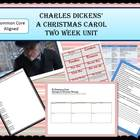 "Charles Dickens ""A Christmas Carol"" Complete two week unit"