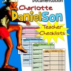 Charlotte Danielson 2007-2011 Teacher Checklists: Document