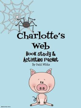 Charlotte's Web Book Study & Activities Packet