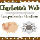 Charlotte's Web Comprehension Questions and Vocabulary for