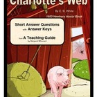 Charlotte's Web  Short Answer Questions