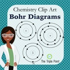 Chemistry Clip Art: Bohr Diagrams for Atoms and Isotopes,