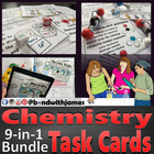 Chemistry Task Cards Series 7-in-1 Bundle