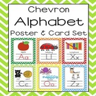 Chevron Alphabet Poster (8.5 x 11 and 5x7) Sound Pack