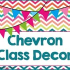 """Chevron Everything"" Room Decor"