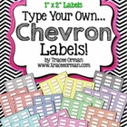 Chevron Labels You Can Customize & Edit {1x2 Avery 5160}