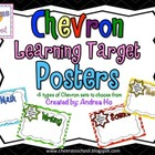 Chevron Learning Target Posters