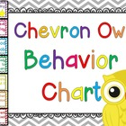 Chevron Owl Behavior Chart