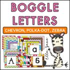 Chevrons, Polka Dots, and Zebras...Oh My!  25 Sets of Bogg