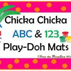 Chicka Chicka ABC & 123 Play-doh Mats