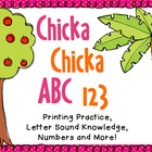 Chicka Chicka- ABC, 123 Unit Plan