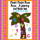 Chicka Chicka Boom Boom - A Literacy and Math MEGA Unit