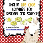 Chicken Life Cycle Activities for Science and Reading ELA